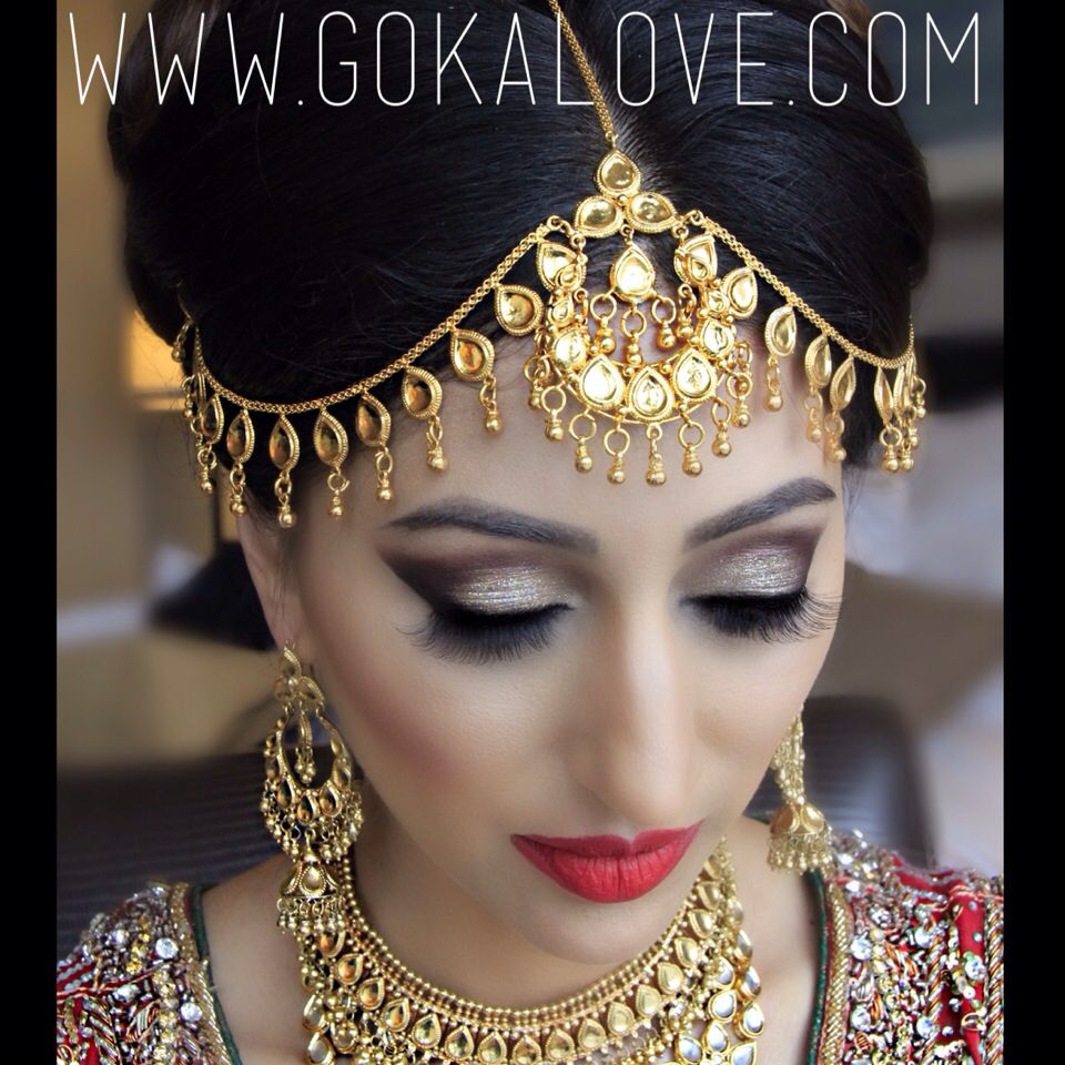 Pakistani Wedding Makeup and Hair!!! Indian Wedding