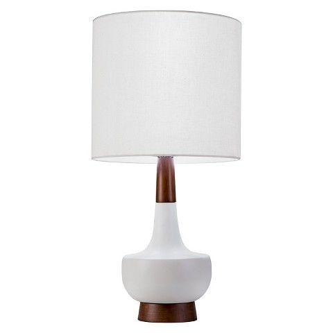 Wooden Glaze Teardrop Lamp, Harp Lamp Shade Target