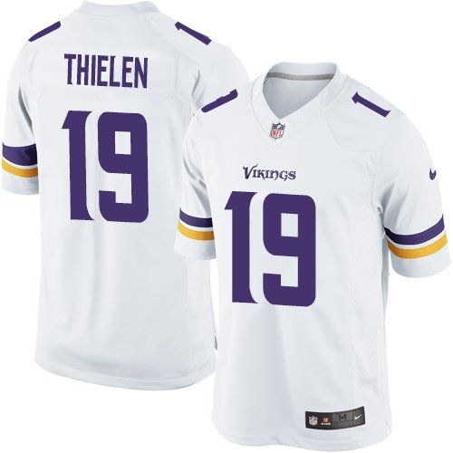 Nike Limited Adam Thielen White Youth Jersey - Minnesota Vikings  19 NFL  Road 2bd821966