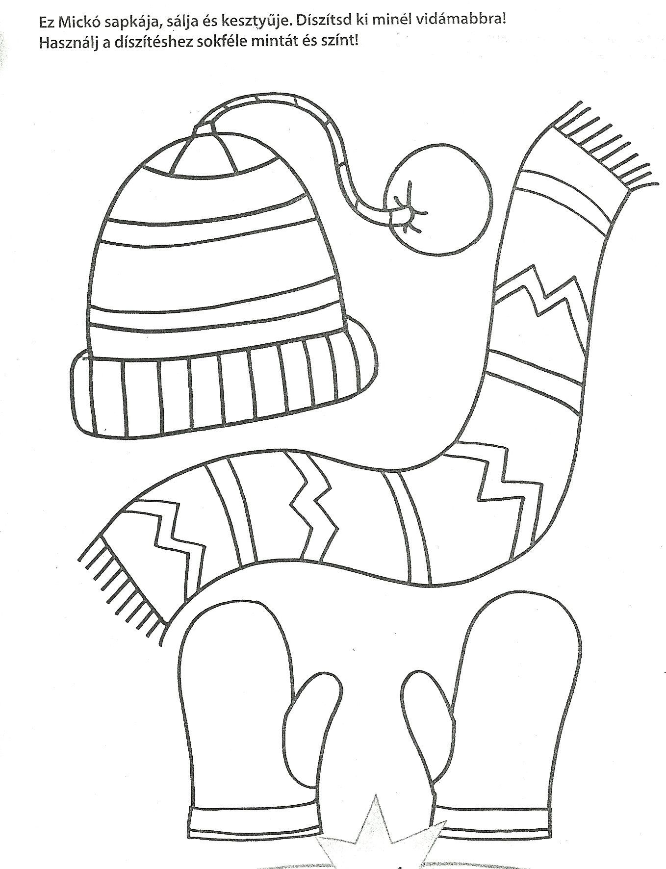 winter hat template 135867 winter hat coloring page classroom
