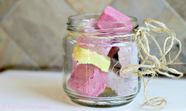 Bath bombs are a great addition to your bath. Add essential oils for a relaxing aromatic bath.