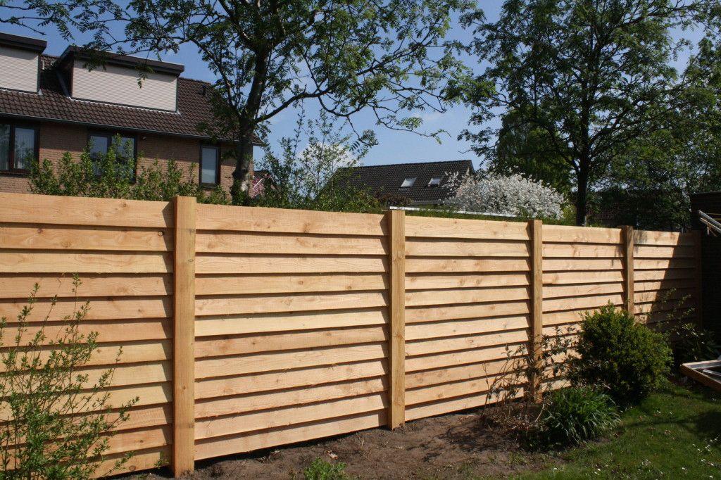 Houten Afscheiding Tuin : Afbeeldingsresultaat voor schutting maken modern tuin schutting