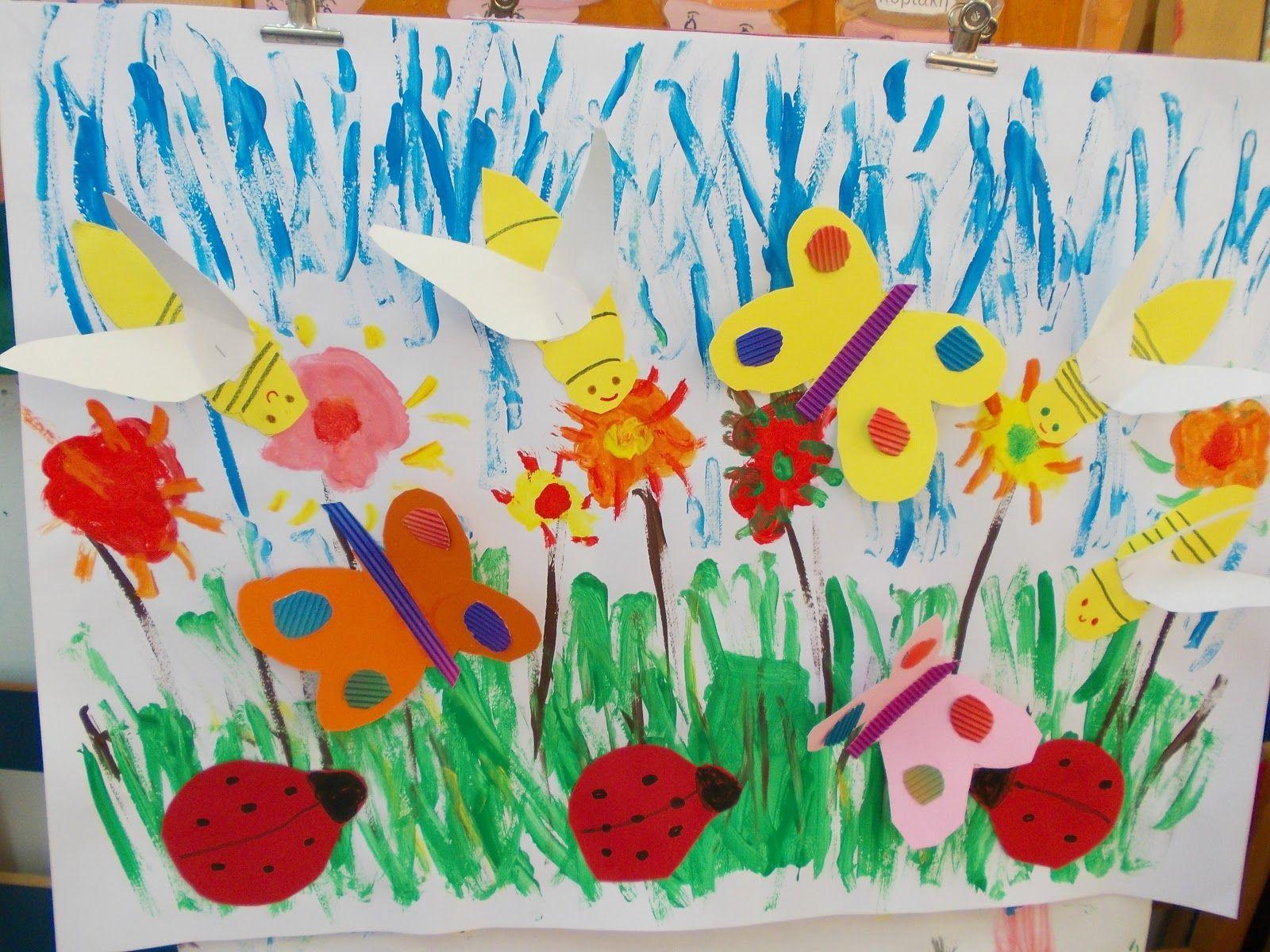 Preschool Art Ideas For May