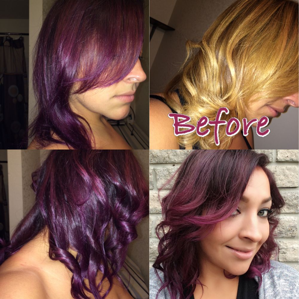 Joico Vero Kpak 4vr And 4fv With Paul Mitchell Violet Color Shots
