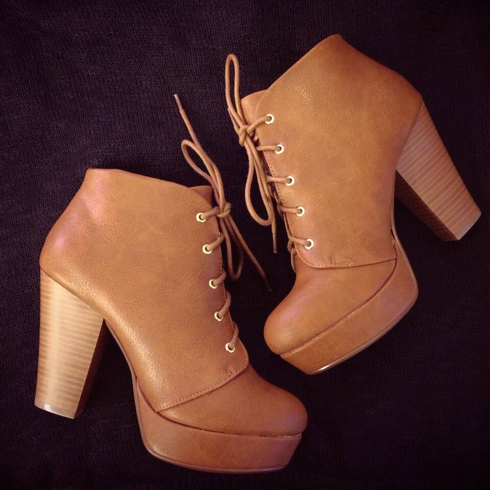 Lace-Up Booties #bluesandshoes #carlsbad #shoes #boots #booties #trends #fall #2014 #fashion #style #boho #bohemian