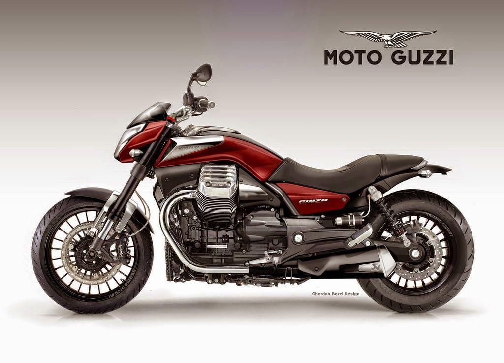 Racing Cafè: Design Corner - Moto Guzzi Ginza 1400 by Oberdan Bezzi