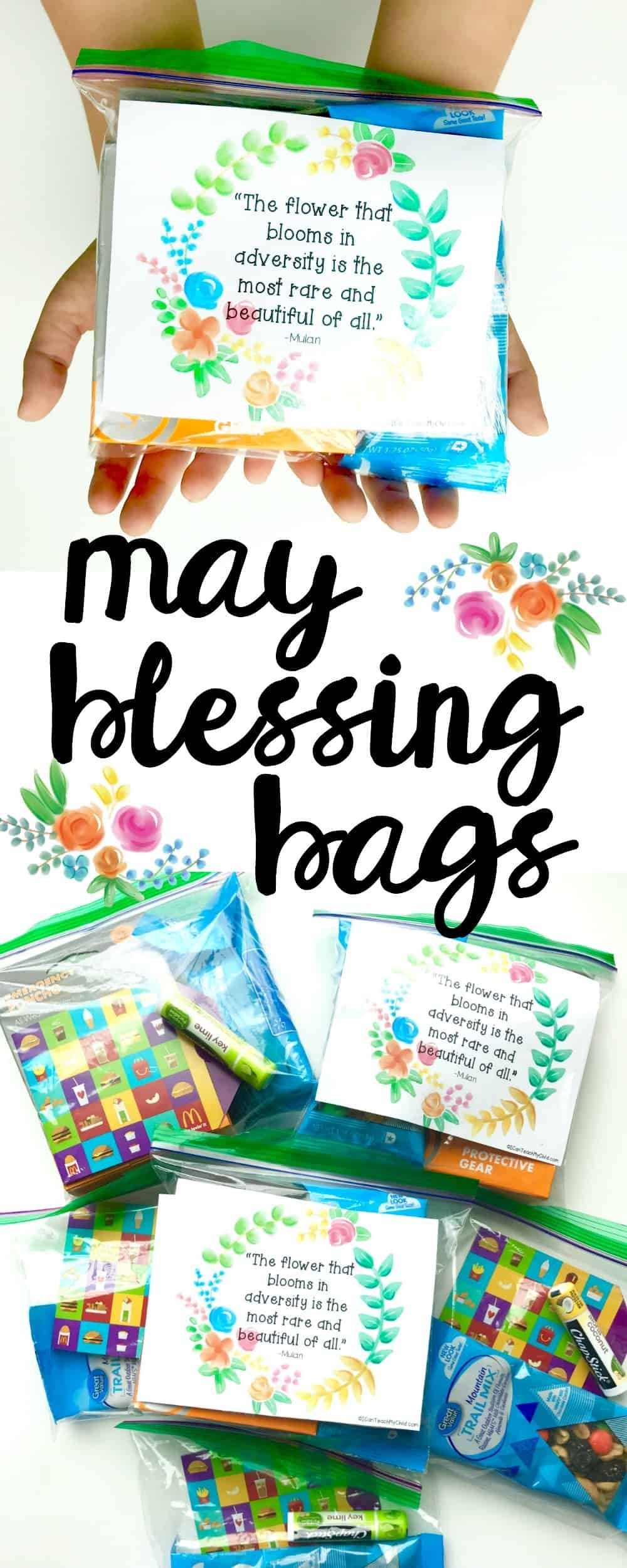 May Blessing Bags - I Can Teach My Child!