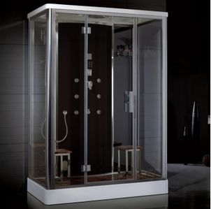 Bon Ariel Platinum DZ956F8 Steam Shower 59x35.5x87.4