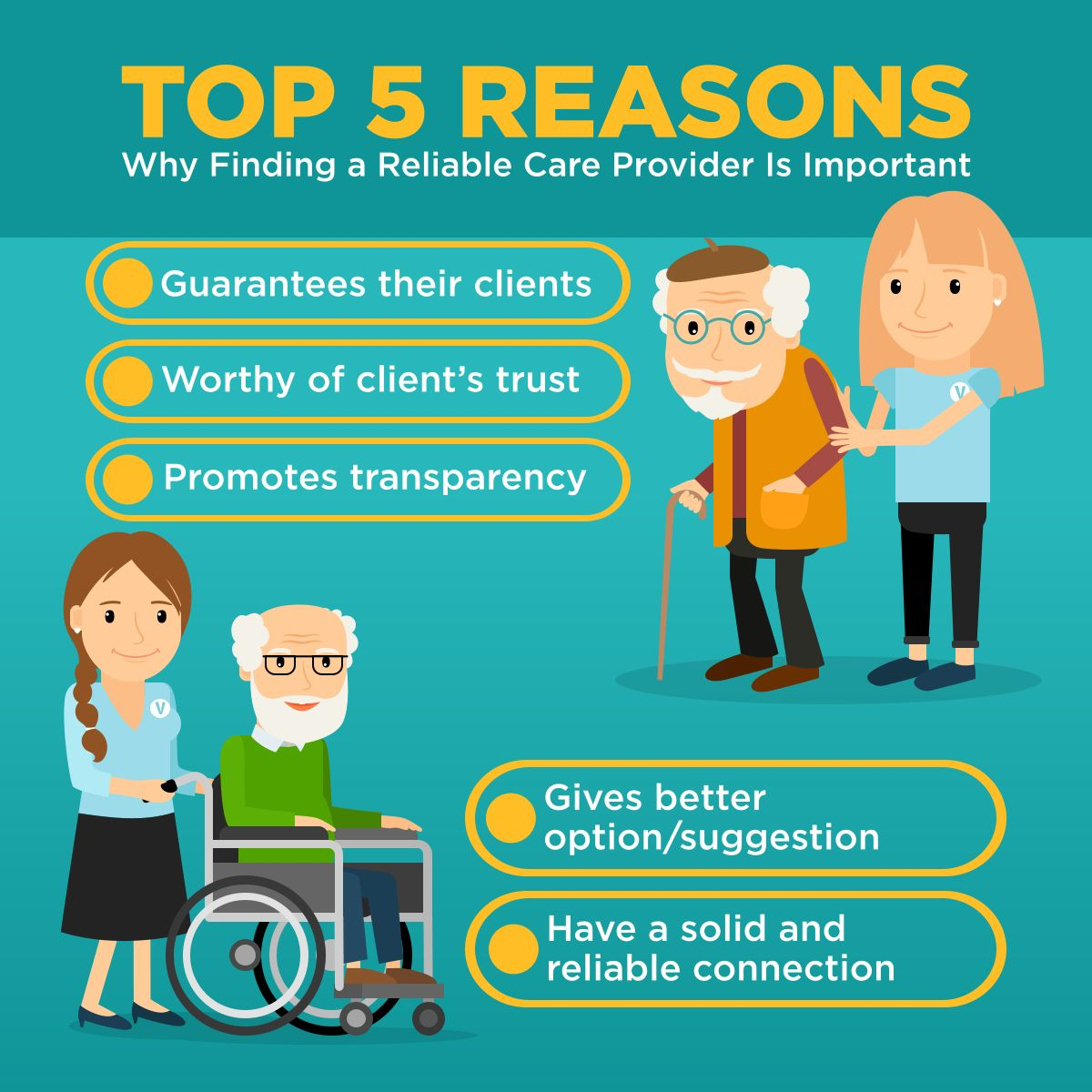 Top 5 Reasons Why Finding a Reliable Care Provider Is