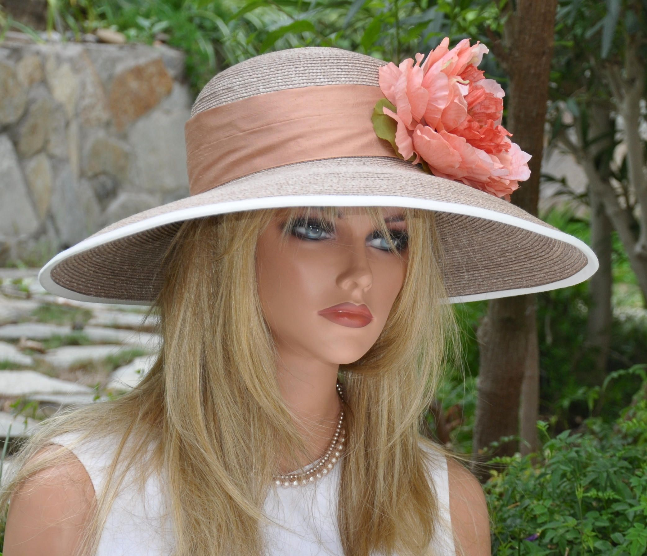 322b6a6087c43 Wide Brim Straw Hat