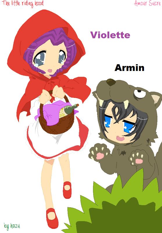 Amour Sucre Violette Le Petit Chaperon Rouge By