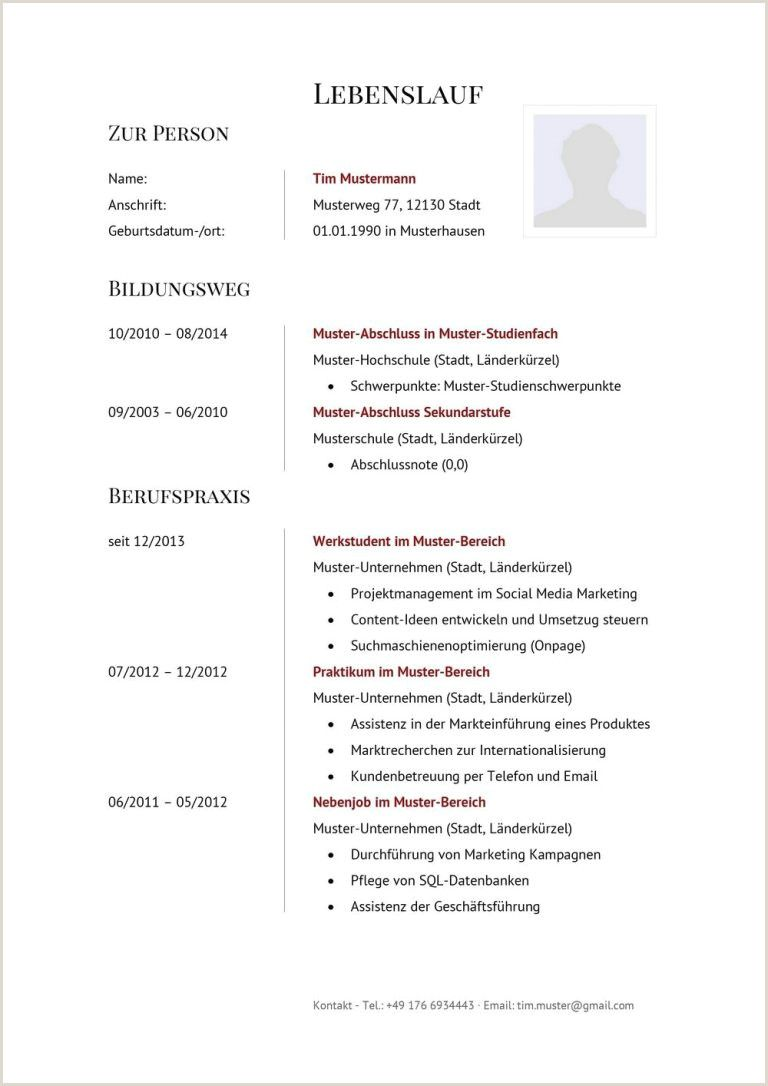 Lebenslauf Muster Doc In 2020 Cv Template Word Cv Template Word Pictures
