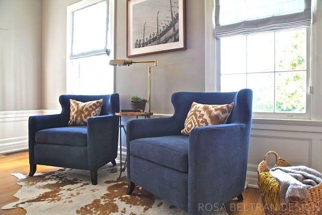 rosa beltran design blog living room camel brown rust large wall art rh pinterest com