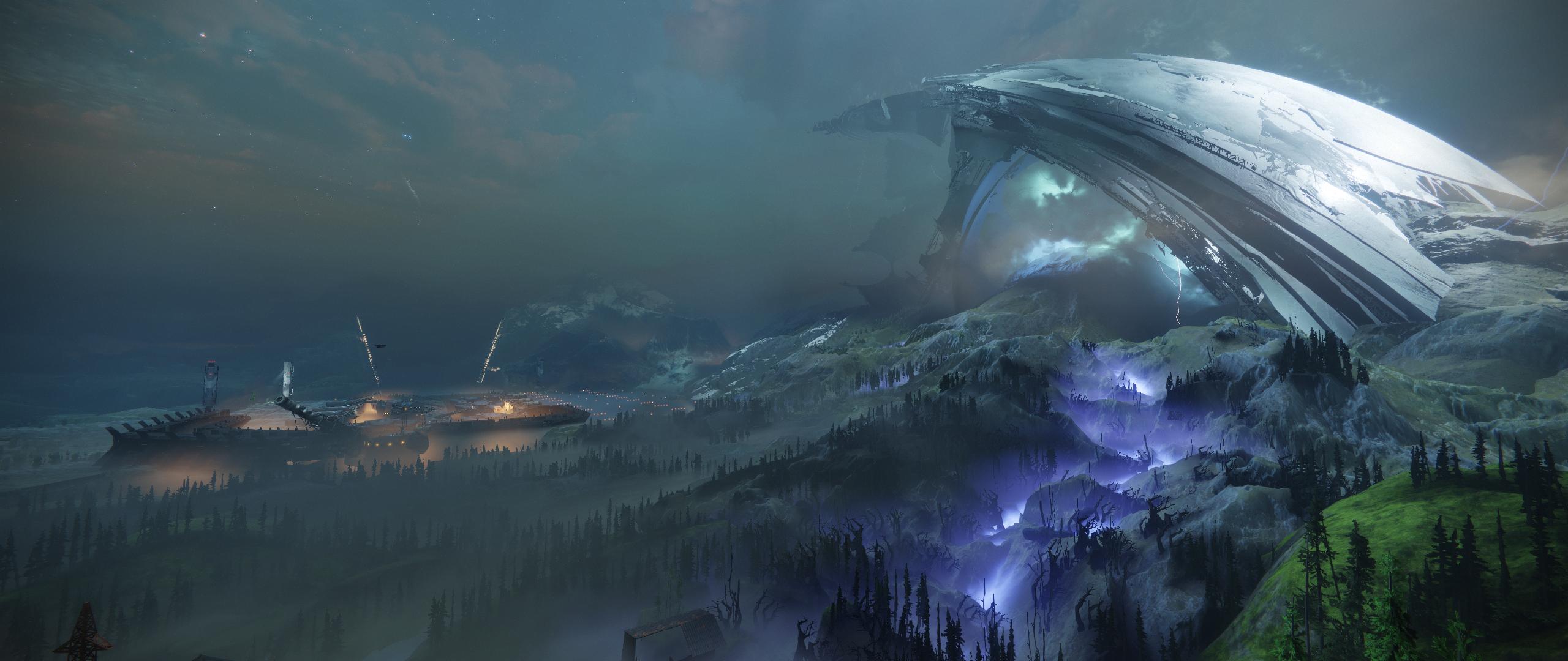 Destiny 2 Dark Shard Of The Traveler Screenshot 2560x1080 Hd Wallpaper Destiny Dark