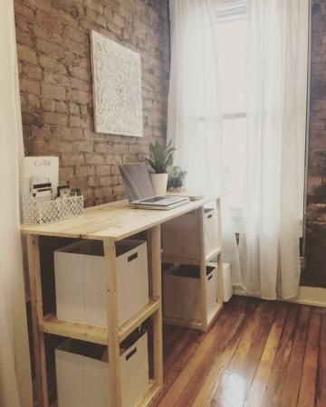 Standing Parson Tower Desk Do It Yourself Home Projects From Ana White Mobilier Idee Bureau