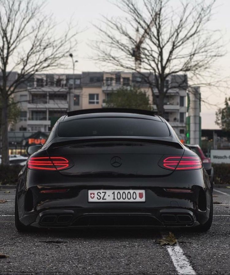 Mercedes-Benz C 63 S AMG Coupé | Luxury Cars | Mercedes ...