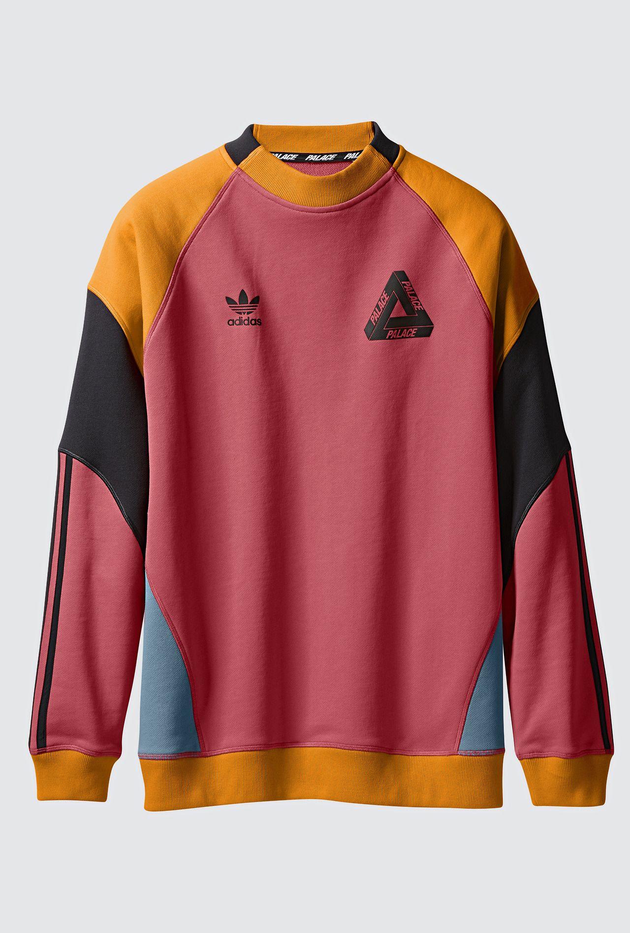 Adidas Originals X Palace Vintage Hoodies Adidas Originals Outfit Palace Clothing [ 1896 x 1280 Pixel ]
