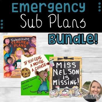 Emergency Sub Plans Bundle