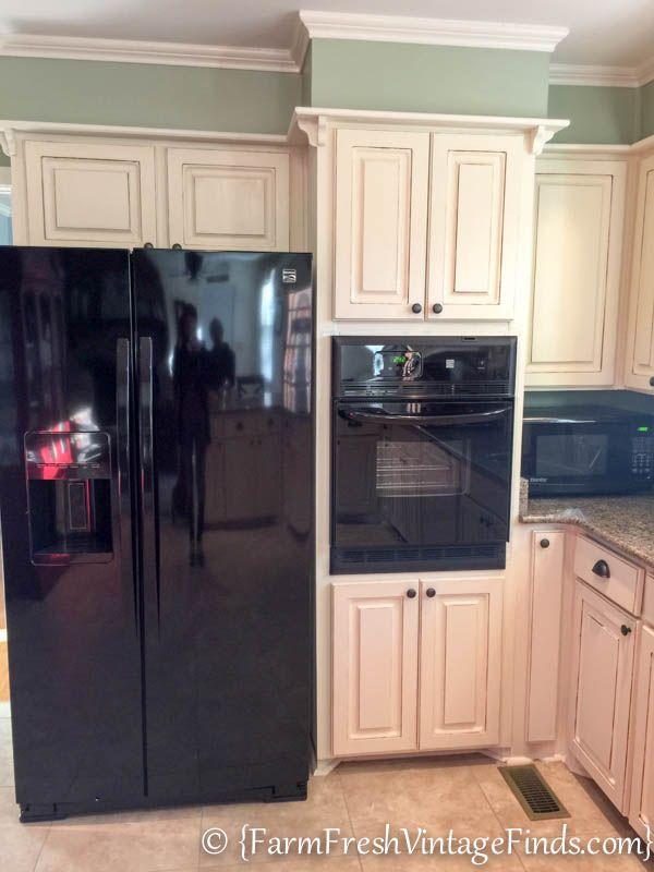 Kitchen Cabinet Refacing on a Budget | Kitchen soffit ...
