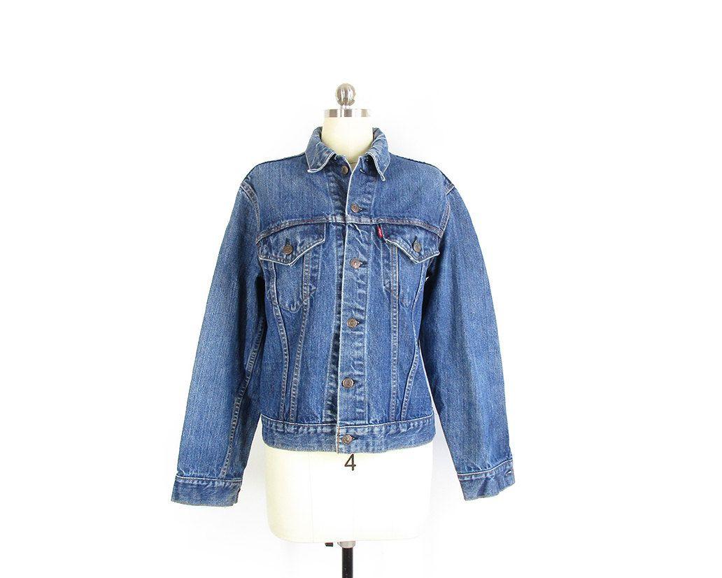 70s Levis Denim Jacket Levis Jean Jacket 70505 Trucker Etsy Denim Jacket Levis Jean Jacket Levis Denim [ 826 x 1032 Pixel ]