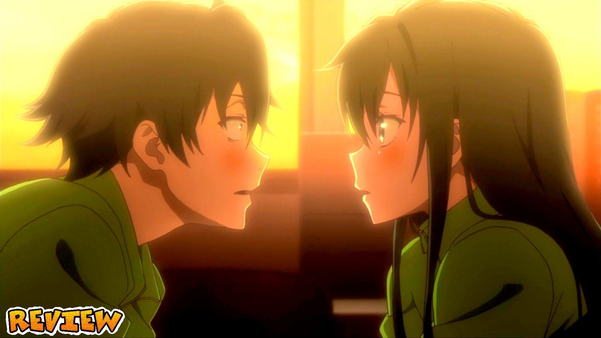 My teen romantic comedy kiss