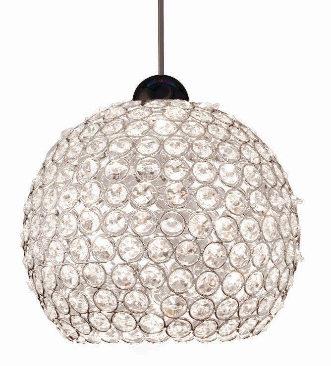 Crystal Roxy Quick Connect 1 Light Pendant | lights | Pinterest ...