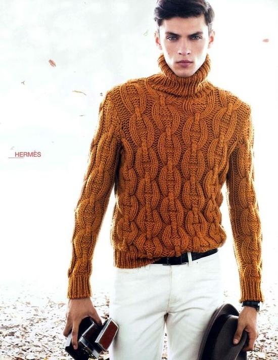 foto ufficiali 4b255 960ba Hermès | Men's Knitwear - Sweaters, Socks, Etc. | Maglione ...