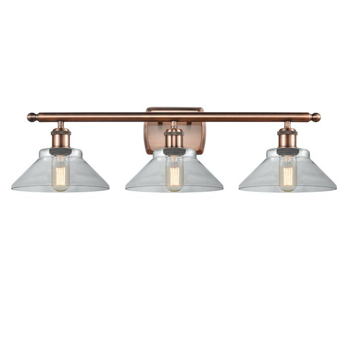 Photo of Nyle 3-Light Dimmable Vanity Light