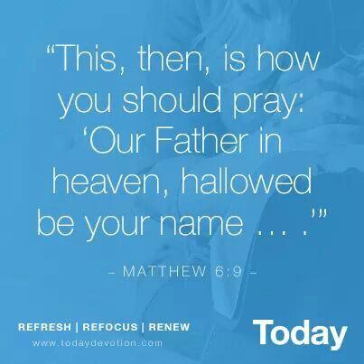 Matthew 6:9 | Bible verses | Bible verses, Bible, Matthew 6
