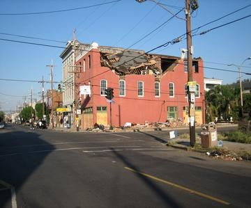 building collapse during hurricane katrina - Google Search