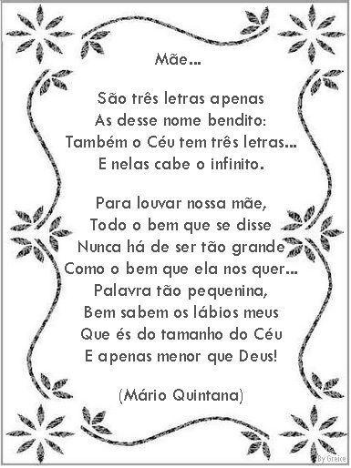 Frases Mae Mensagem Dia Das Maes Poemas Para O Dia Das Maes
