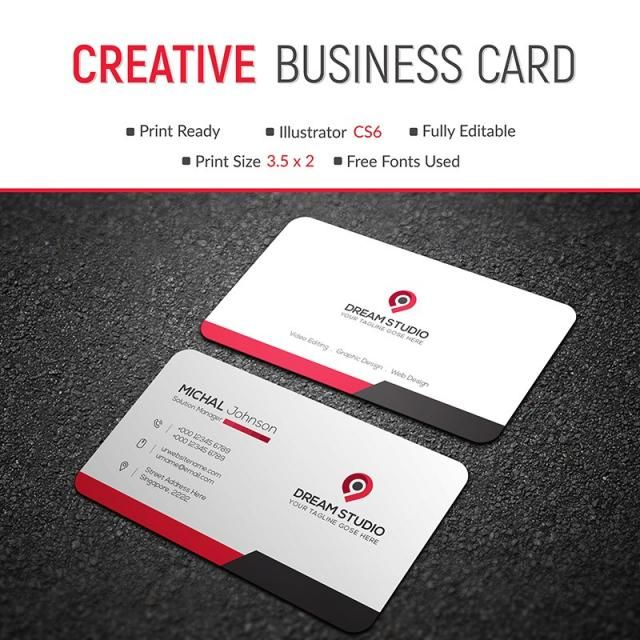 business, card, template, design, vector, creative, modern, abstract - business card template design