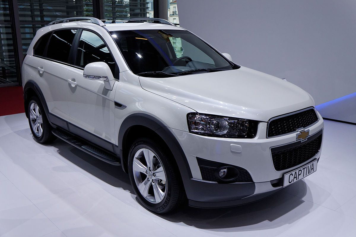 Chevrolet Captiva Wikipedia Chevrolet Captiva Chevrolet
