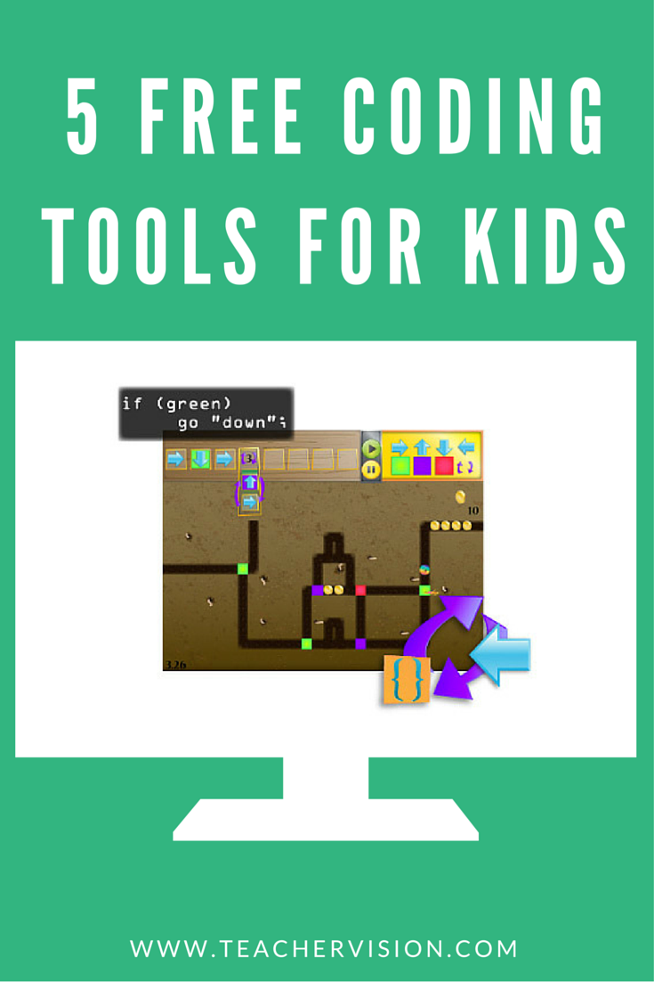 Top 5 Free Coding Tools For Kids Ages 5 Computer Coding For Kids Coding Apps Teaching Coding