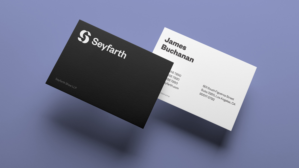 Brand New New Logo And Identity For Seyfarth By Carbone Smolan Agency Identity Logo Jefferson University Challenges And Opportunities