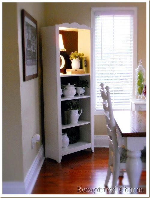 Bookshelf With Lamp