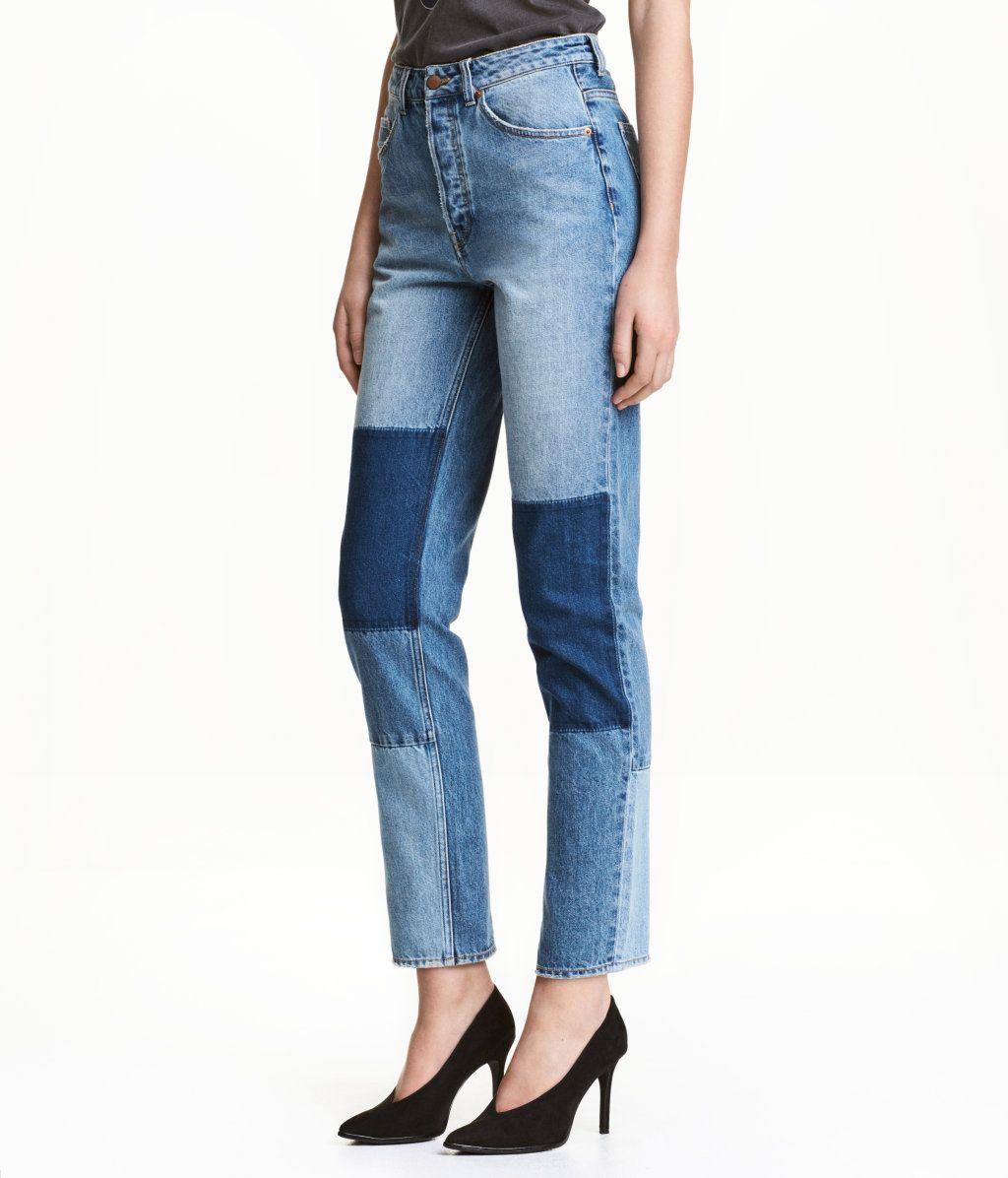 65670bf0 Loose fit Regular Jeans | Denimblå | Dame | H&M NO | Go store ...