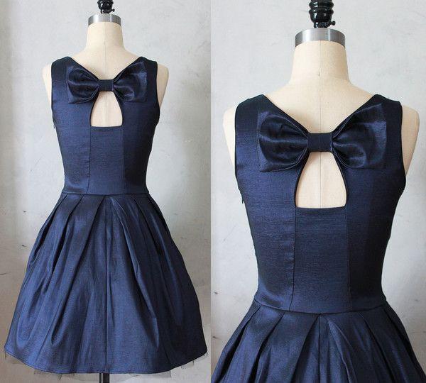 Jubilee Dress in Navy | fairejour