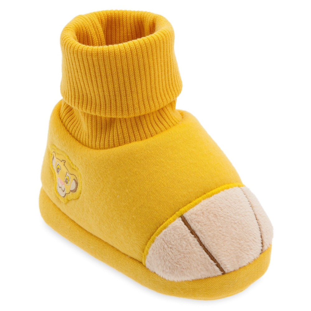 Disney Store Simba Baby Costume Booties  Dress Up Shoes Slippers Lion King NEW