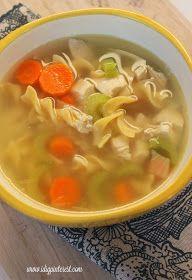 I Dig Pinterest: Secret's Out Perfect Chicken Noodle Soup