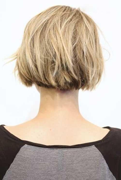 Afbeeldingsresultaat voor latest short haircuts 2016 back view