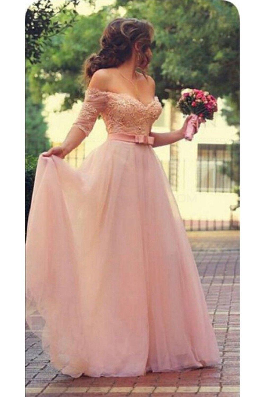 off the shoulder short dress pink