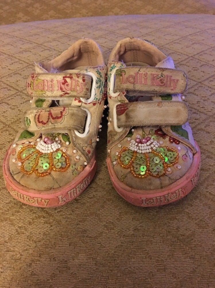 2f08b899104d1 LELLI KELLY Toddlers Size US Size 6/EU 22 Beaded Embellished Sneaker Shoes  #fashion #clothing #shoes #accessories #kidsclothingshoesaccs #girlsshoes  (ebay ...