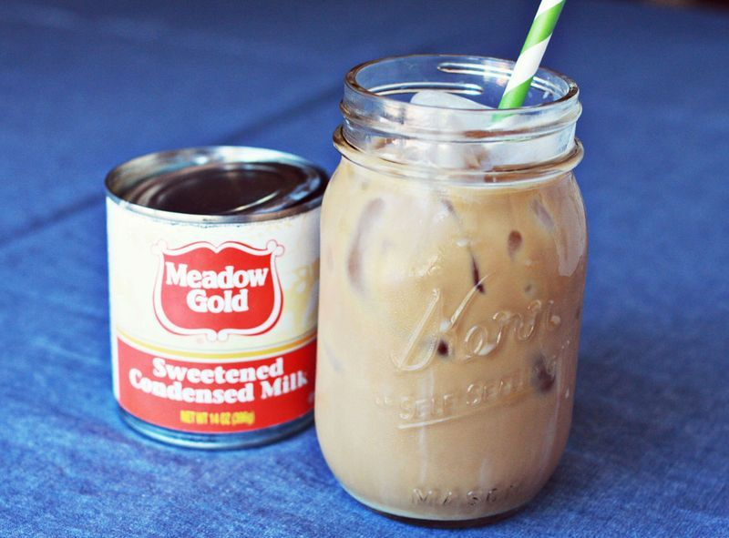 Homemade Iced Coffee A Beautiful Mess Recipe Condensed Milk Recipes Homemade Iced Coffee Sweetened Condensed Milk Recipes