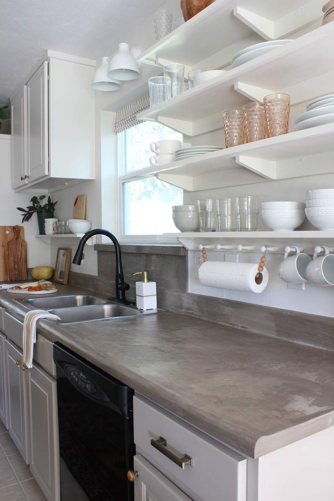 One Room Challenge Budget Kitchen Reveal In 2020 Kitchen On A Budget Budget Kitchen Makeover Bathroom Makeover