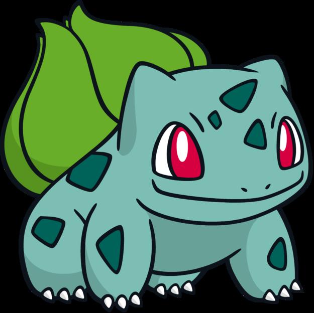 That's my favorite pokemon : Bulbasaur