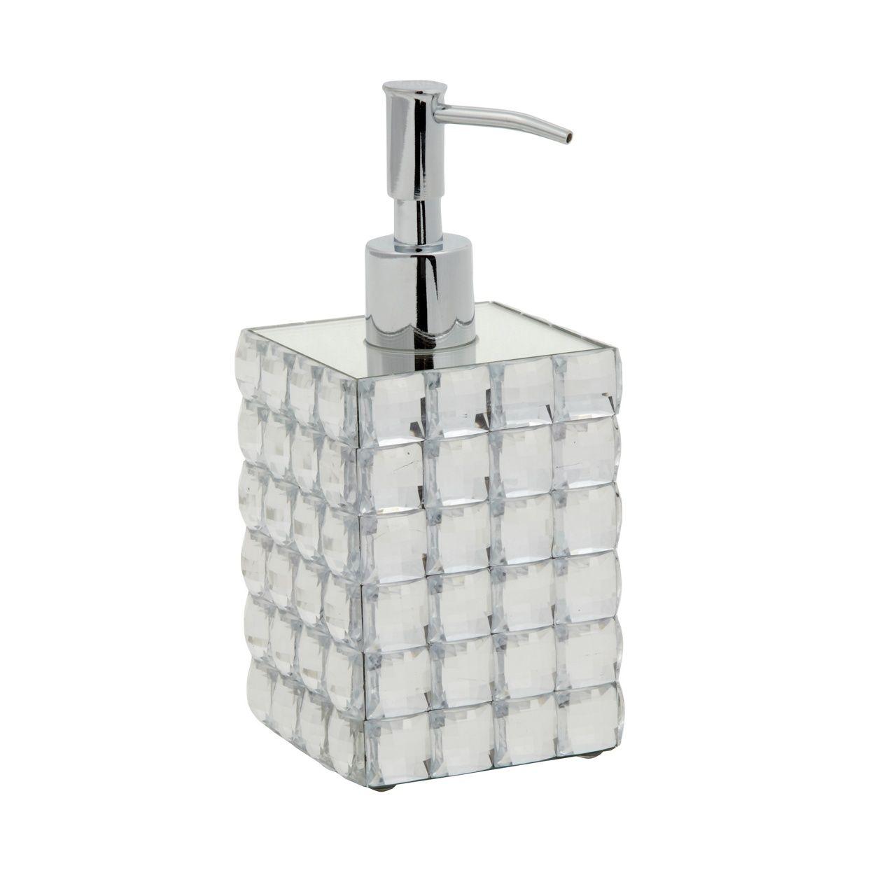 Star by Julien Macdonald Designer faceted jewel soap dispenser- at ...