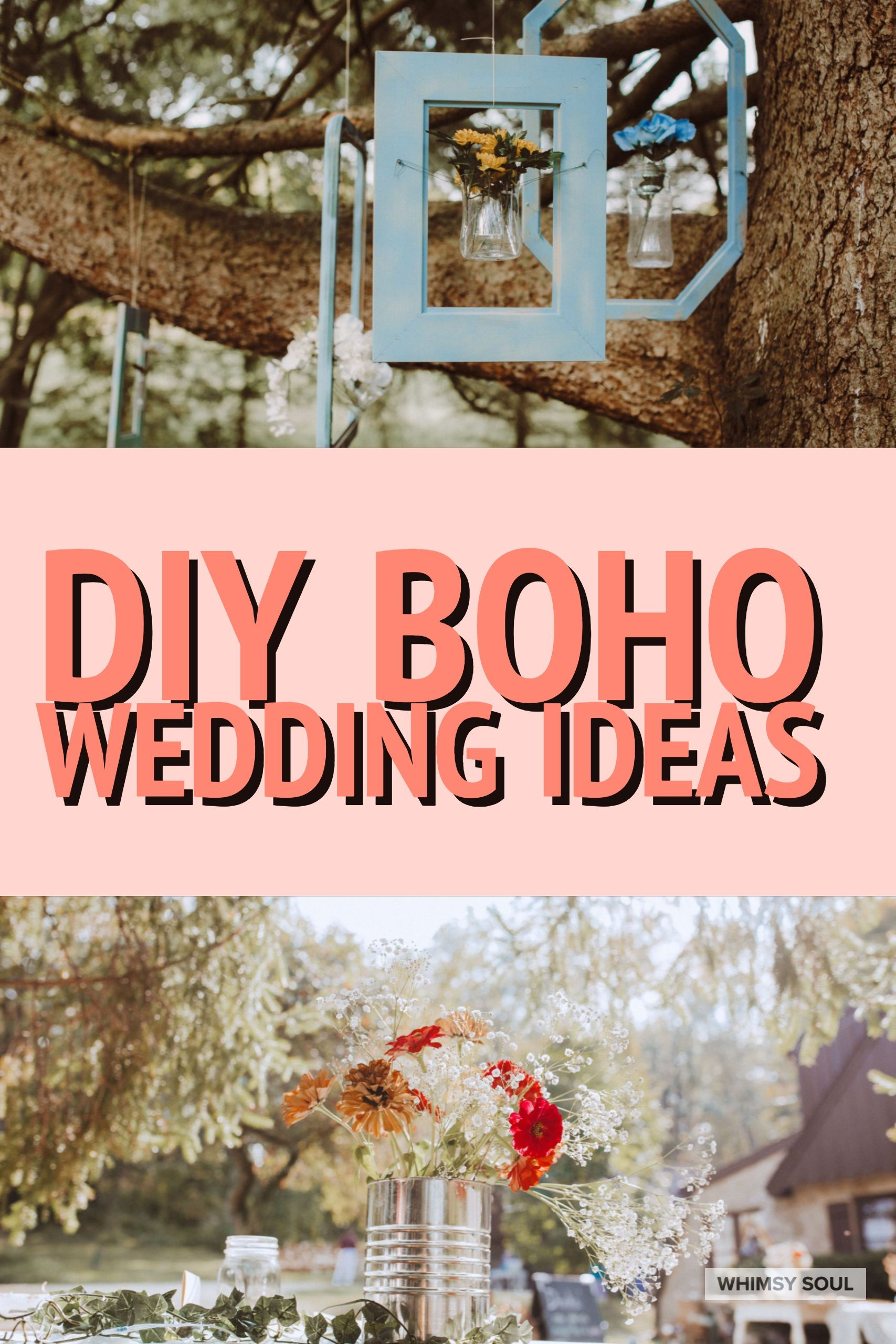 Magical Wedding In The Woods | Pinterest | Boho wedding decorations ...