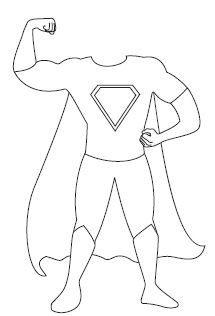 Superman Babalar Gunu Supermen Boyama Sayfalari