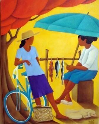 Peintre Philippe Dubois   Tahiti / Moorea - the perfect honeymoon! 2013   Pinterest   Canvas ...